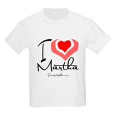 I Heart Martha Kids T-Shirt