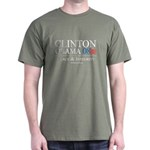 Clinton/Obama: Peace and Integrity Dark T-Shirt