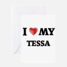 I love my Tessa Greeting Cards