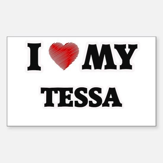 I love my Tessa Decal