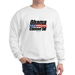 Obama Clinton 08 Sweatshirt