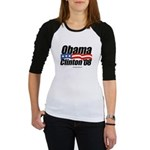 Obama Clinton 08 Jr. Raglan