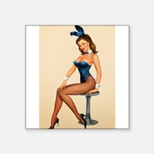 Pin Up Rabbit Sticker