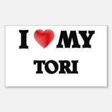 I love my Tori Decal