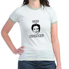 Got Hillary? Jr. Ringer T-Shirt
