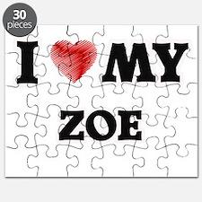 I love my Zoe Puzzle