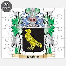 Raper Coat of Arms - Family Crest Puzzle