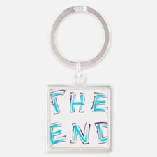 The End Blue Keychains