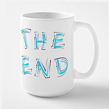 The End Blue Mugs