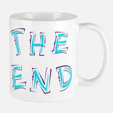 The End Blue Mugs