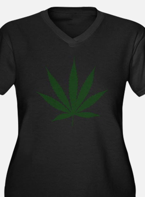 Weed Plus Size T-Shirt
