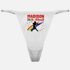 PERSONALIZE SOFTBALL Classic Thong