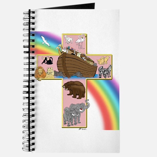 Pink Noah's Cross Journal