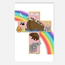 Pink Noah's Cross Postcards (Package of 8)