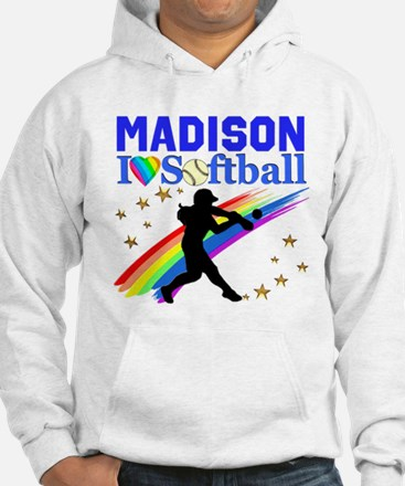 PERSONALIZE SOFTBALL Hoodie