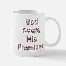 """Pink Noah's Cross w/ """"God Keeps"""" Mug"""