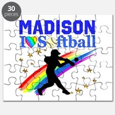 PERSONALIZE SOFTBALL Puzzle