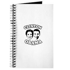Clinton + Obama Journal