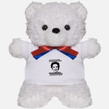 One day a woman will be president Teddy Bear