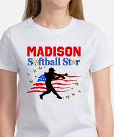 PERSONALIZE SOFTBALL Women's T-Shirt
