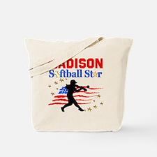 PERSONALIZE SOFTBALL Tote Bag