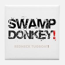 SWAMP DONKEY - REDNECK TUGBOAT! V Tile Coaster