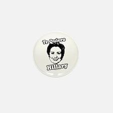 Te quiero Hillary Clinton Mini Button (10 pack)