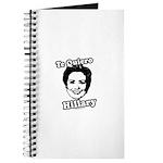 Te quiero Hillary Clinton Journal