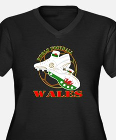 Wales UK world football soccer Plus Size T-Shirt