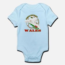 Wales UK world football soccer Body Suit