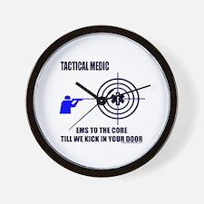 Tactical Medic Shirts and Gif Wall Clock