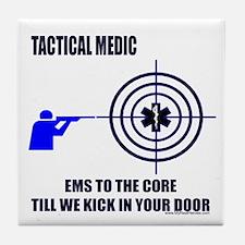 Tactical Medic Shirts and Gif Tile Coaster