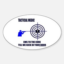 Tactical Medic Shirts and Gif Oval Decal