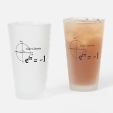 Funny Math Drinking Glass