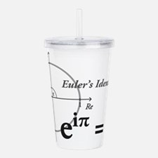 Funny Math Acrylic Double-wall Tumbler