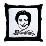 Hillary Clinton: It's time for a woman on top Thro