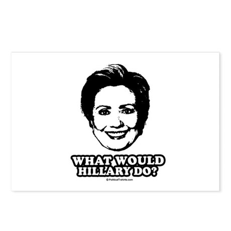 Hillary Clinton: What would Hillary do? Postcards