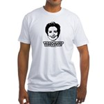 Hillary Clinton: What would Hillary do? Fitted T-S