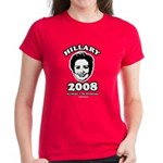 Hillary 2008: No penis no problems Women's Dark T-