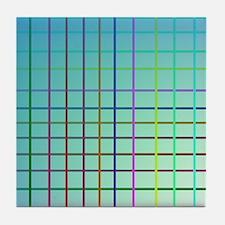 Pattern Line Tile Coaster