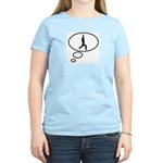 Thinking of Yoga Women's Light T-Shirt