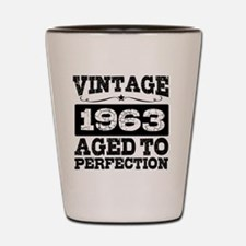 Funny Vintage 1963 Shot Glass