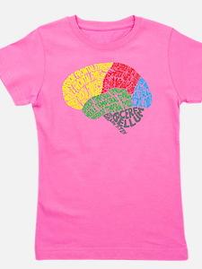 Cute Neurology Girl's Tee