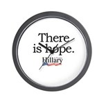 There is hope: Hillary 2008 Wall Clock