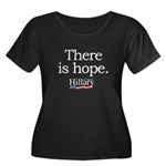 There is hope: Hillary 2008 Women's Plus Size Scoo