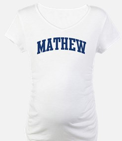 MATHEW design (blue) Shirt