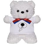 Thinking of Table Tennis Teddy Bear