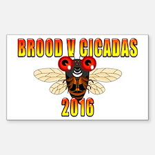 Unique Cicadas Decal