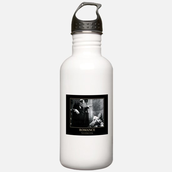 Romance: You're doing it wrong. Sports Water Bottl