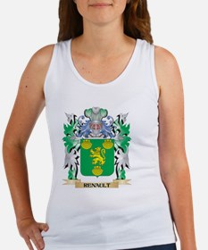 Renault Coat of Arms - Family Crest Tank Top